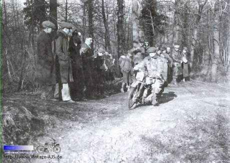 1933 AJS Rowley Trial